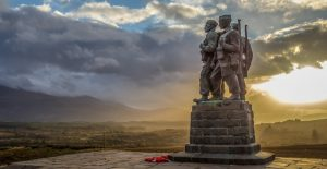 commando memorial. loch ness glencoe and the highlands tour